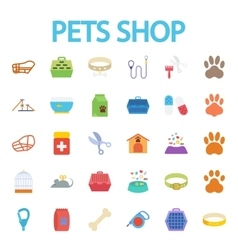 Pets shop vector image