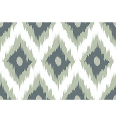 Seamless pattern Tribal Art Ikat vector