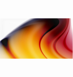 Swirl fluid flowing colors motion effect vector
