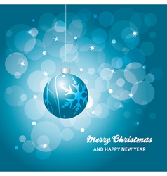 christmas card background vector image vector image