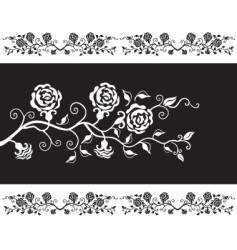 roses design vector image