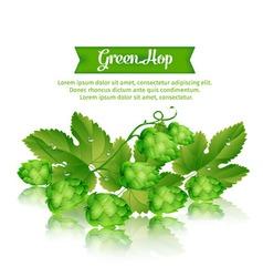 1green hop vector