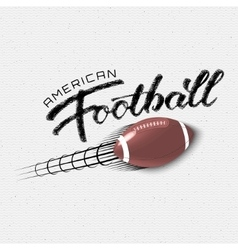 American football insignia and labels for any use vector