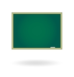 Blank chalk board Drawing cartoon vector image