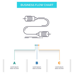 buzz communication interaction marketing wire vector image