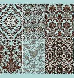 floral design set vector image