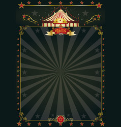 magic black circus vector image