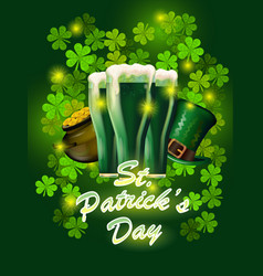 st patricks day greeting happy st patricks vector image