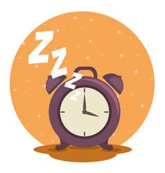 Sweet dreams sleeping time icon vector