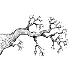 Tree theme drawing 3 vector