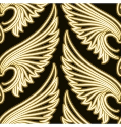 Wing Pattern vector