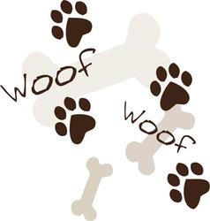 Woof Woof vector