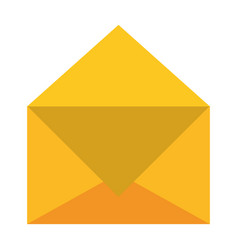 envelope icon image vector image