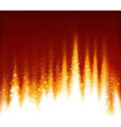 Fire abstract background vector image vector image