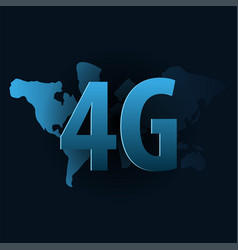 4g new wireless internet wifi connection banner vector