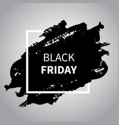 black friday sale design black friday vector image