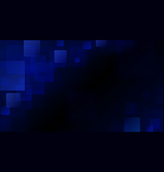 blue abstract background of blurry squares vector image