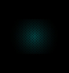 honeycomb background of geometric hexagons vector image