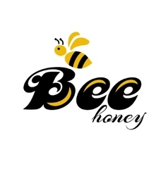 Merry bee Logo vector