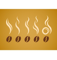 Koffee Smoke vector image vector image