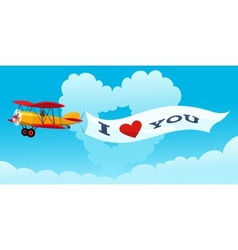 Love Message vector image vector image