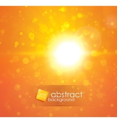 sun light vector image vector image