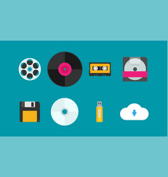 Flat evolution of storage devices vector