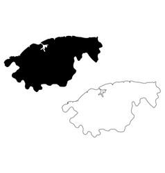 La habana province republic cuba provinces of vector