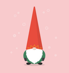 little santa claus vector image