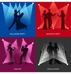 Party design concept vector image