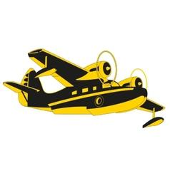 Sea Plane vector image