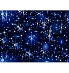 Starbright sky vector