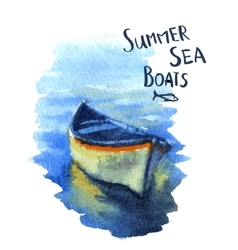 Boats vector image vector image