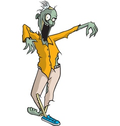 Paul Zombie vector image