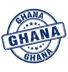 Ghana stamp vector