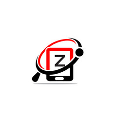 Hand phone search initial z vector