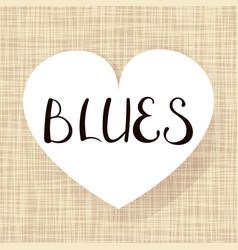 pair dance blues vector image
