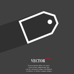 Web stickers icon symbol flat modern web design vector