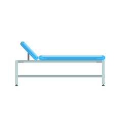 hospital bed medical equipment vector image
