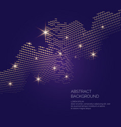 Background universe and vector