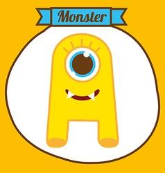 Monster design vector