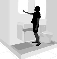 Restroom vector