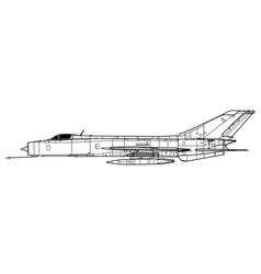 Shenyang j-8 i finback a vector