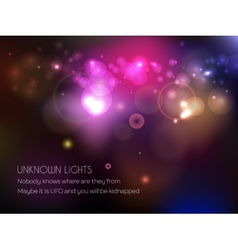 Shine Bokeh Background vector image