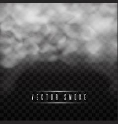 smoke or cloud effect vector image