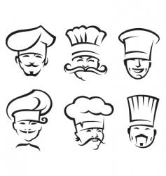 chefs vector image vector image