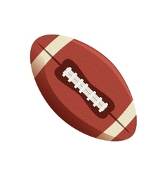 American football ball emblem vector