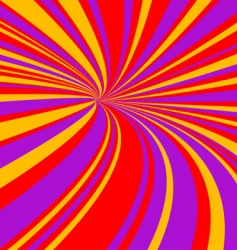 speed tunnel vector image vector image