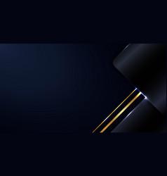 abstract modern template blue metallic geometric vector image