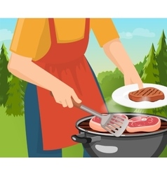 Cooking Barbecue Concept vector